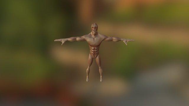 highres dude 3D Model