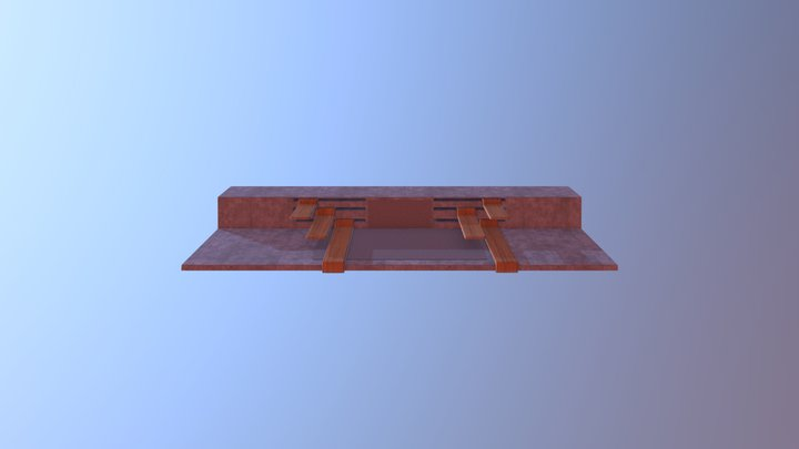Work Table Concept 2 3D Model
