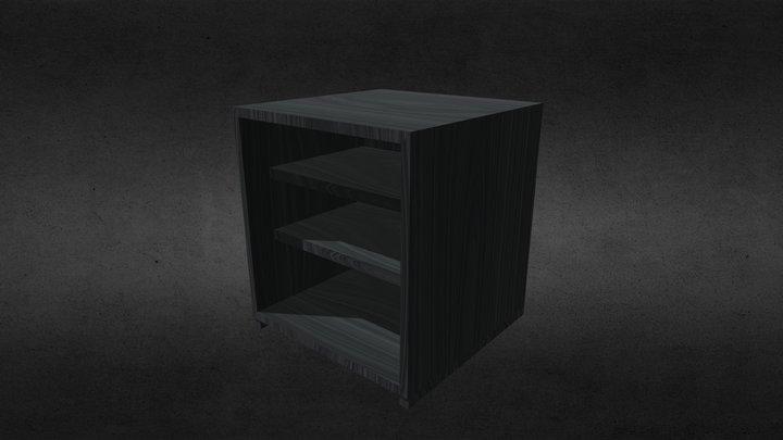 Black Shelve 3D Model