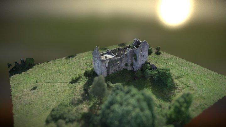 Abandoned Castle Torwood - Scotland 3D Model