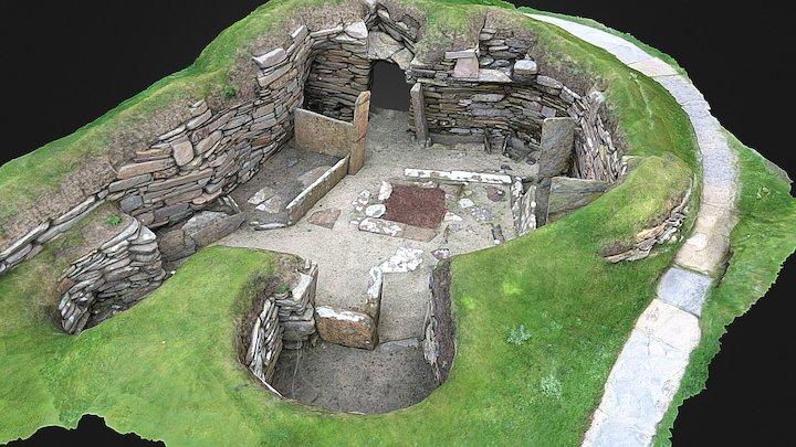 Skara Brae, Orkney. House 2 3D Model