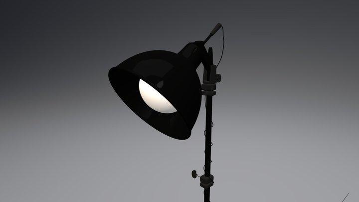 Professional Light Stand 3D Model