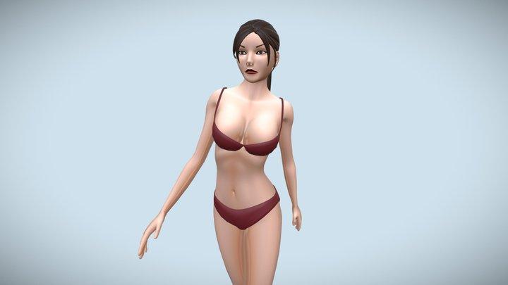 Base Female Body - Eve 3D Model