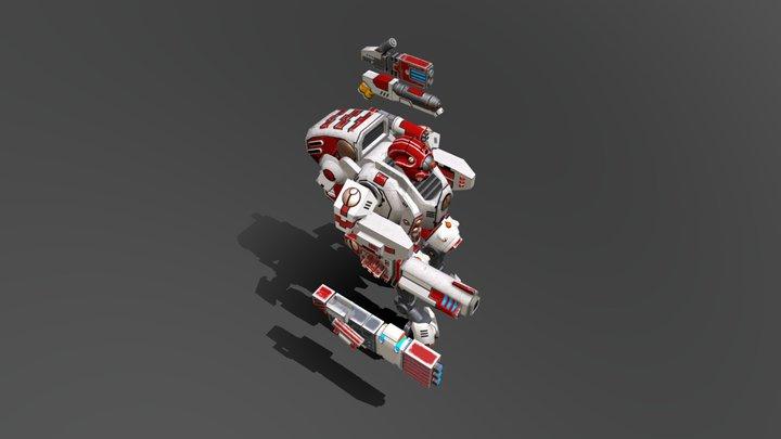 XV 95 Ghostkeel 3D Model