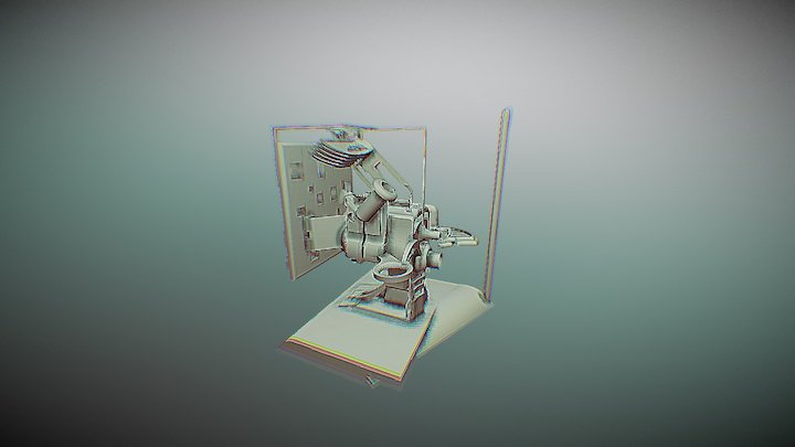 Transreceiver 3D Model