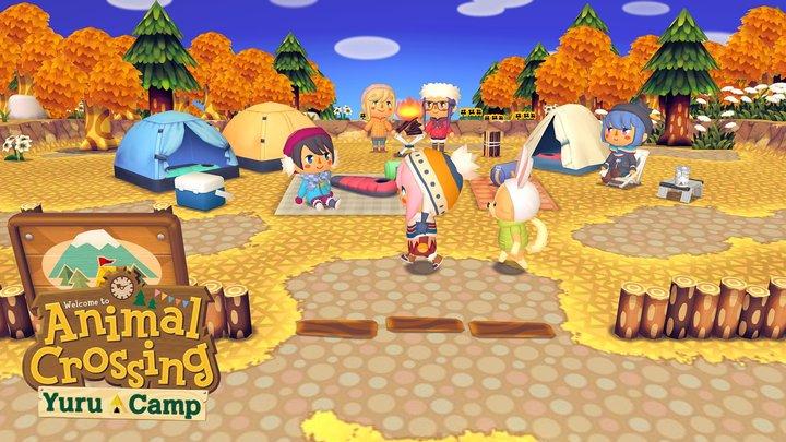 Animal Crossing: Yuru Camp 3D Model