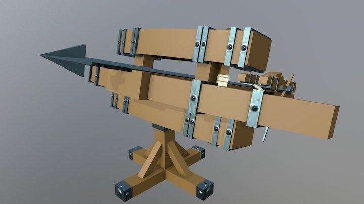 Ballista - Siege Equipment Assets 3D Model