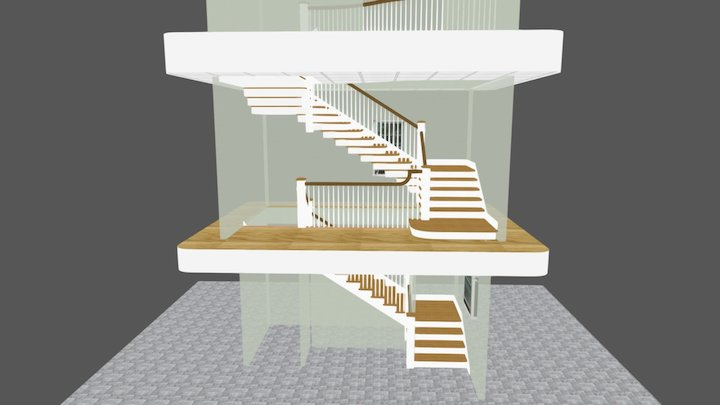 Main Stair 1st Submittal 2-14-17_b 3D Model