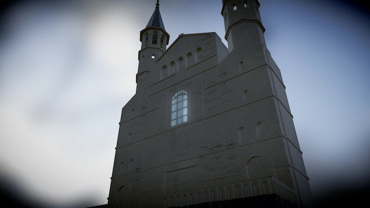 Church from Bydgoszcz 3D Model