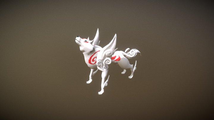 Okami 3D Model