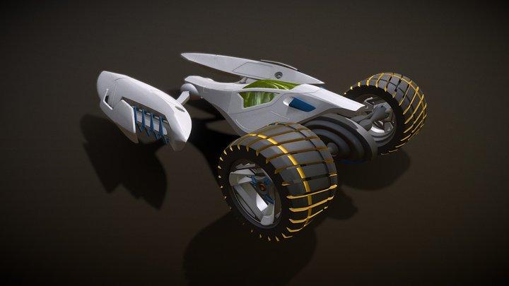 Cloud8 - Interrobang Racer 3D Model