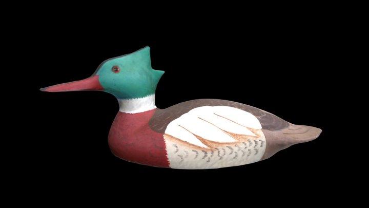 Red-breasted Merganser Drake 3D Model