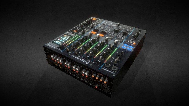 DJM 800 3D Model