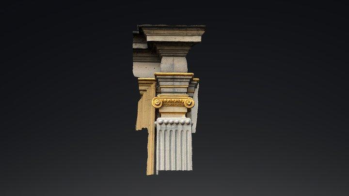 Renaissance Pilaster Capital from Höchst 3D Model