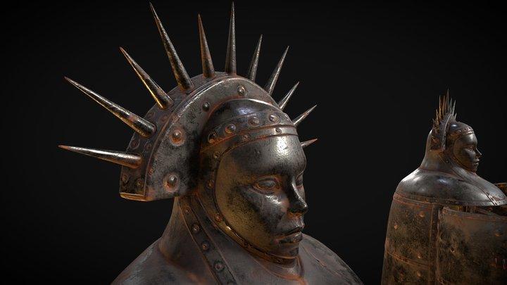 Iron Maiden 3D Model