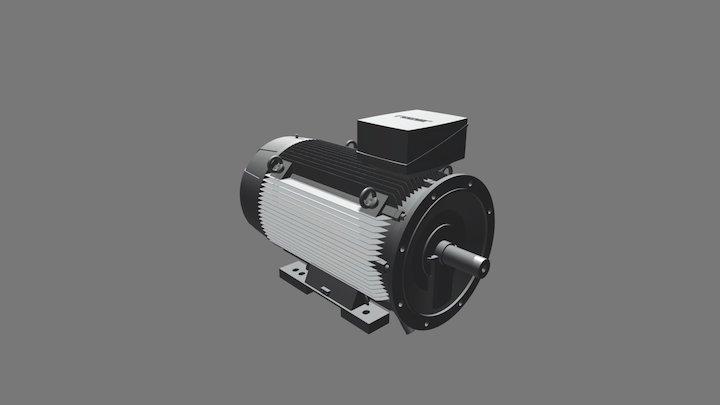 Motore Siemens 1LE1503 3D Model