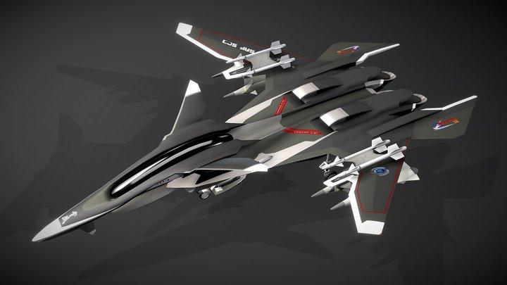 Yukikaze Mave 3D Model