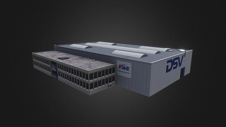 DSV Building Low Poly 3D Model