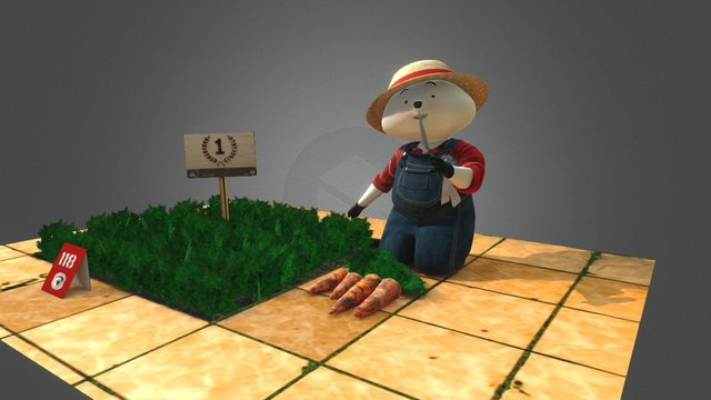 Happy_Mom 3D Model