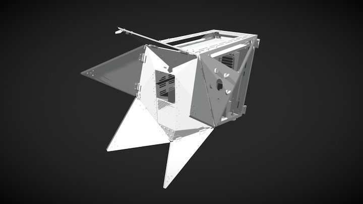 The Pentagon 3D Model