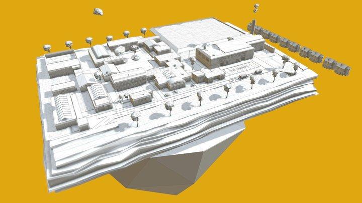 BUILDING TEST 3D Model