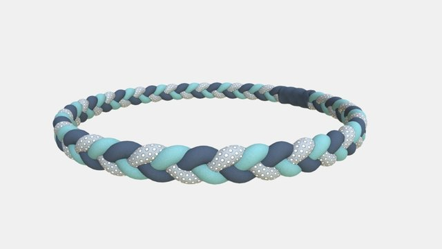 Braided Band 3D Model
