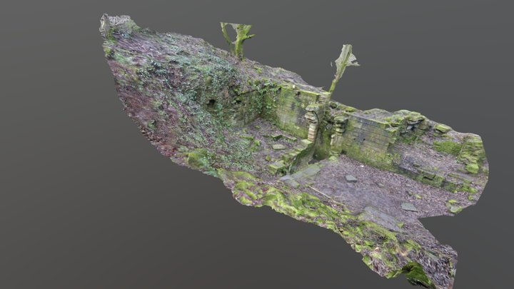 Mytholme Mill, Saddleworth, 3D Photogrammetry 3D Model