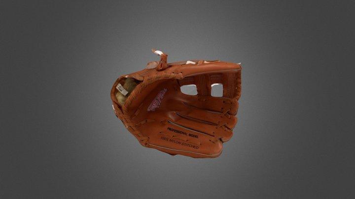 Baseball Glove 3D Model