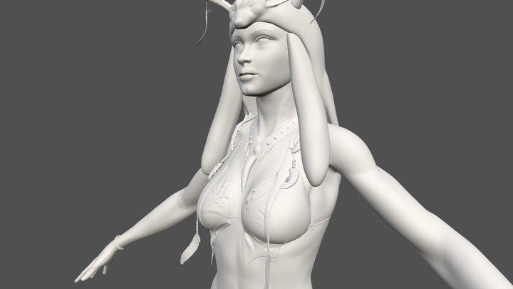 Druid WIP 02 3D Model