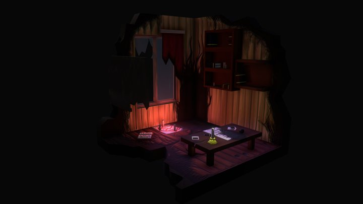 The aftermath 3D Model