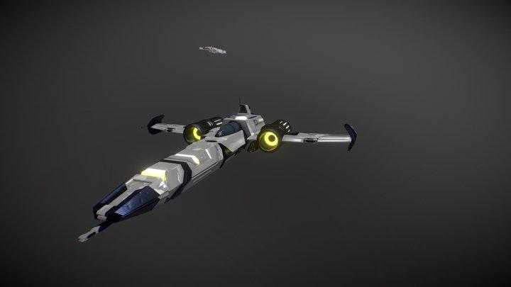 Star Ship 3D Model