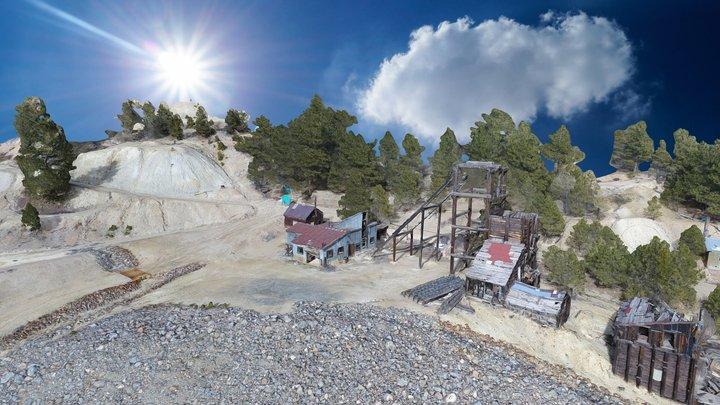 Hidee Mine - Colorado 3D Model