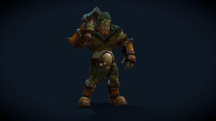 swamp_orc 3D Model