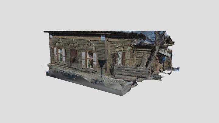 Irkutsk, Wooden house, Stepana Razina street 3D Model
