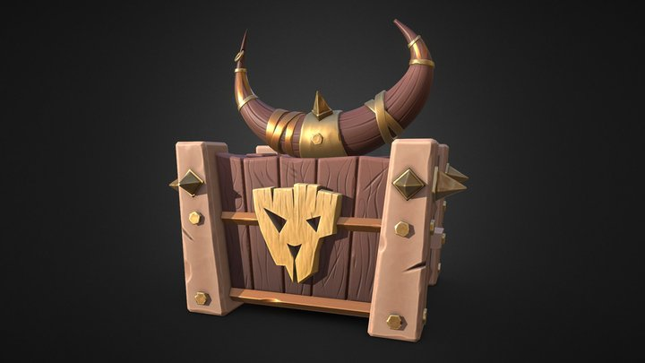 Chest Project 3D Model