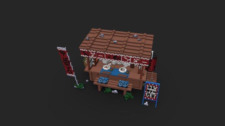 Ramen Shop 3D Model