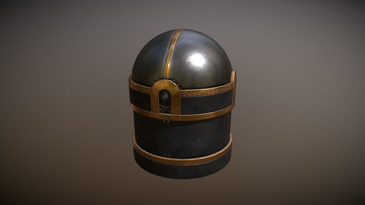 Null Element Dome Container 3D Model