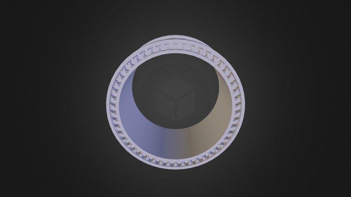 טבעת תימנית 3D Model