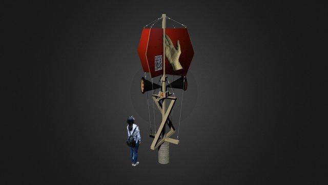 Portal To An Alternative Reality, St Petersburg 3D Model