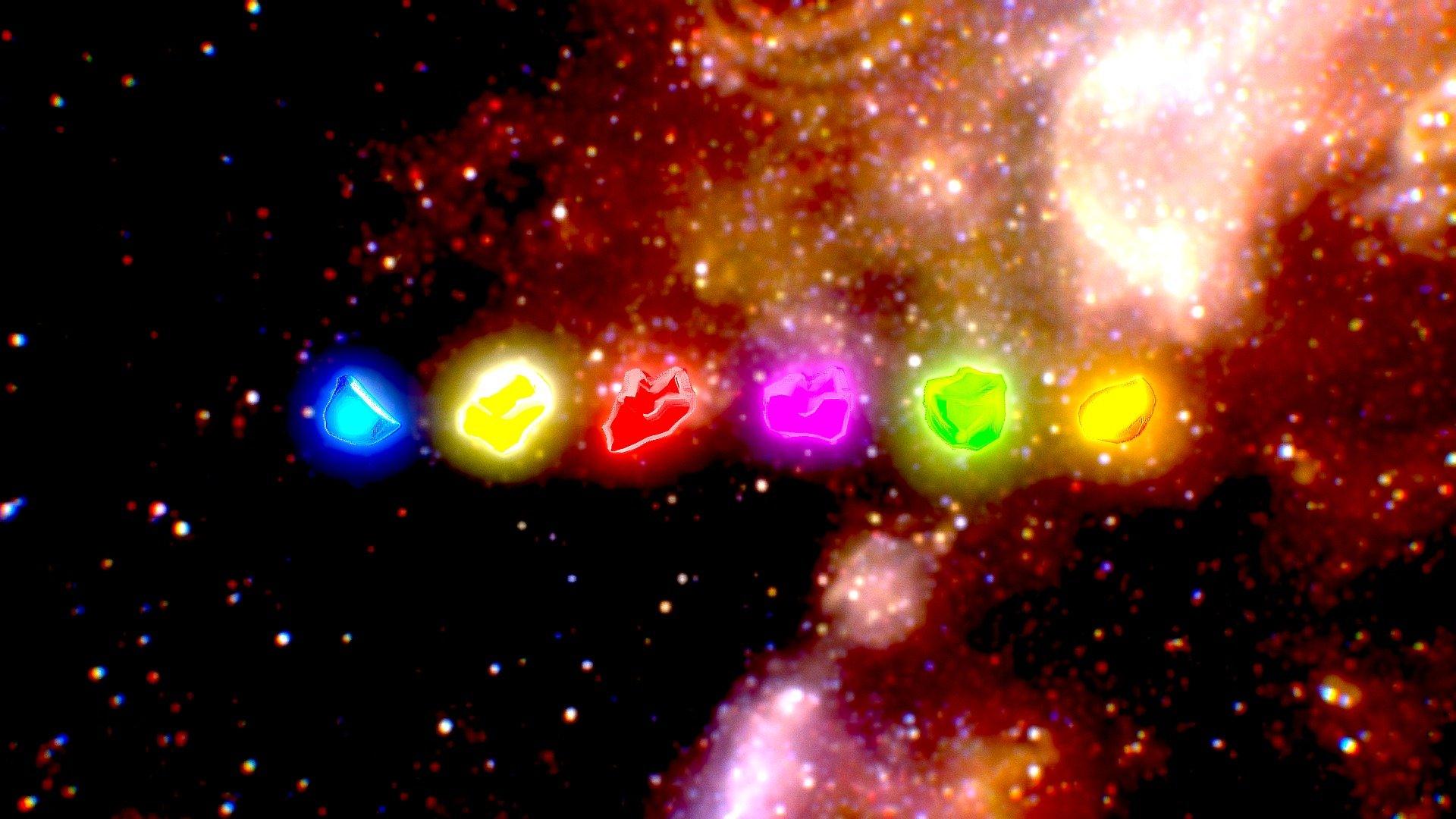 Infinity Stones (Avengers) - Download Free 3D model by ...
