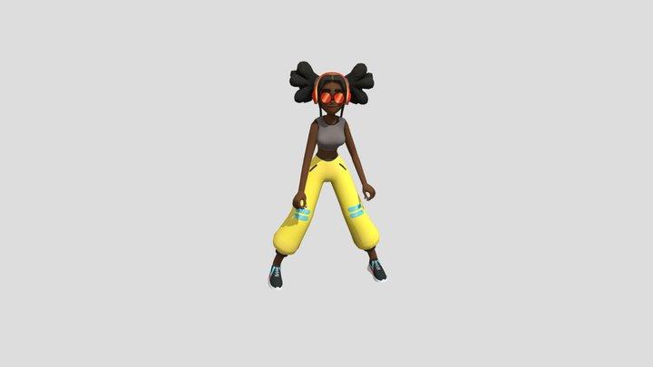 614230016 Michelle Thriller Part 3 Fbx 3D Model
