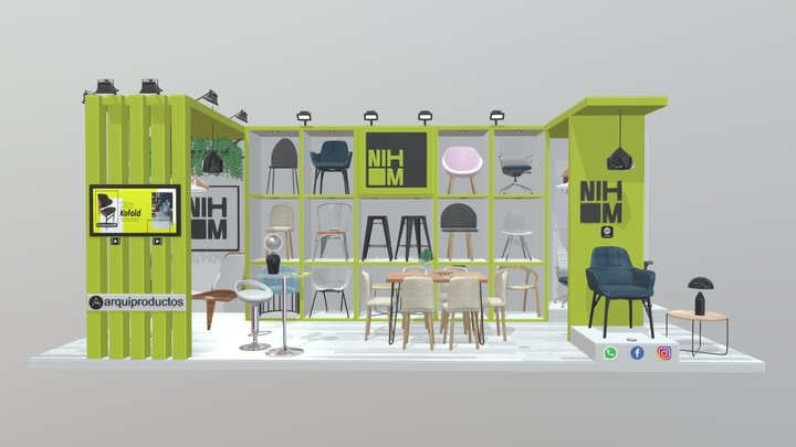 STAND NIHM 3D Model