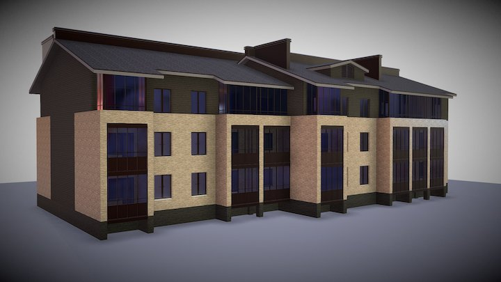 Hause Animation 3D Model