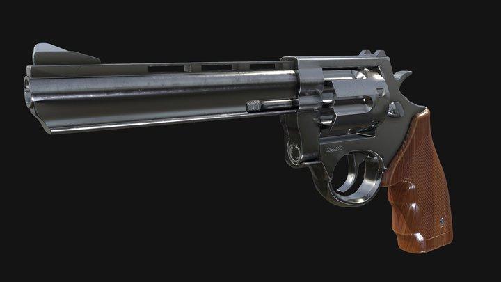 Revolver 380 3D Model