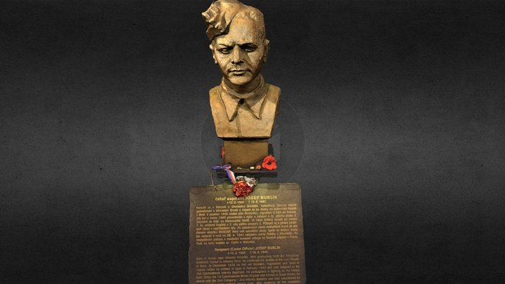Josef Bublík 3D Model