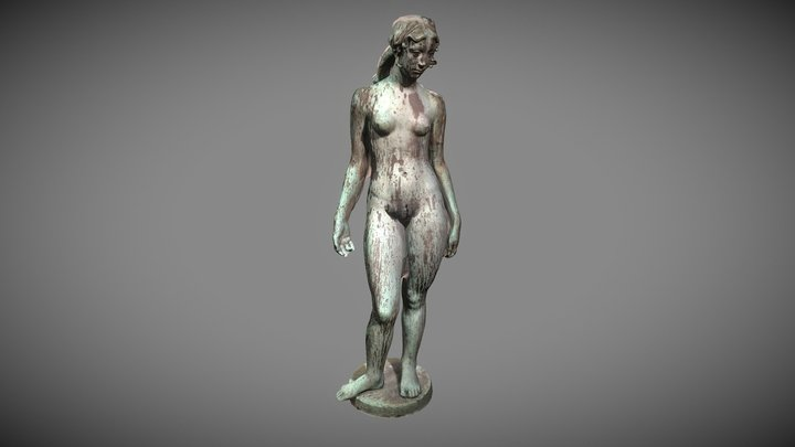 Aphrodite Decimated 3D Model