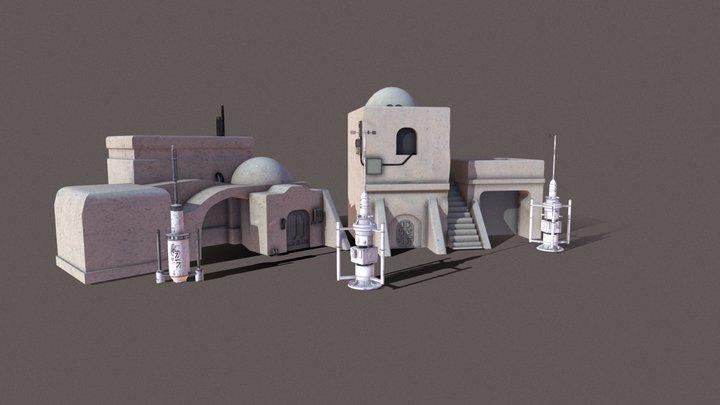 Tatooine 3D Model