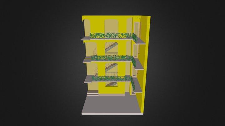 Stralcio Render Ascensore 3D Model