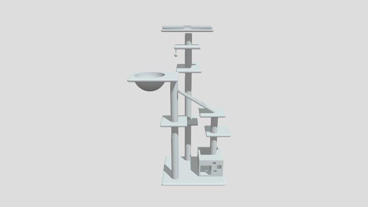Cat Tree Mock Design 3D Model