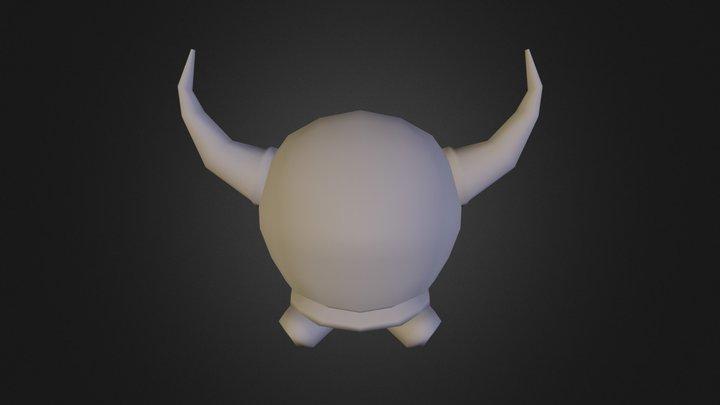 Bully Untextured - SM64 HD remake!! 3D Model